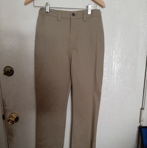 New Boys Tan chino pants size 16